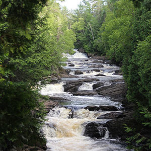 Moxie Falls, Old Canada Road National Scenic Byway
